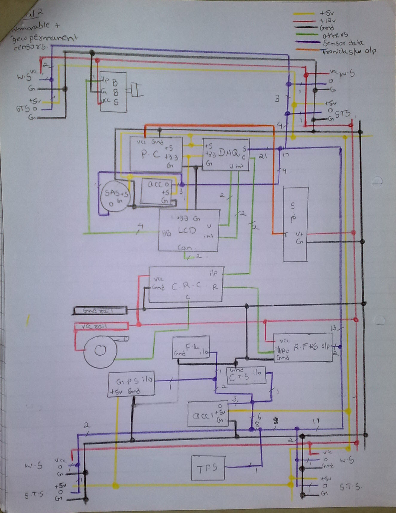 Wiring Diagram Car : Wiring diagrams for a fsae race car ori let s talk